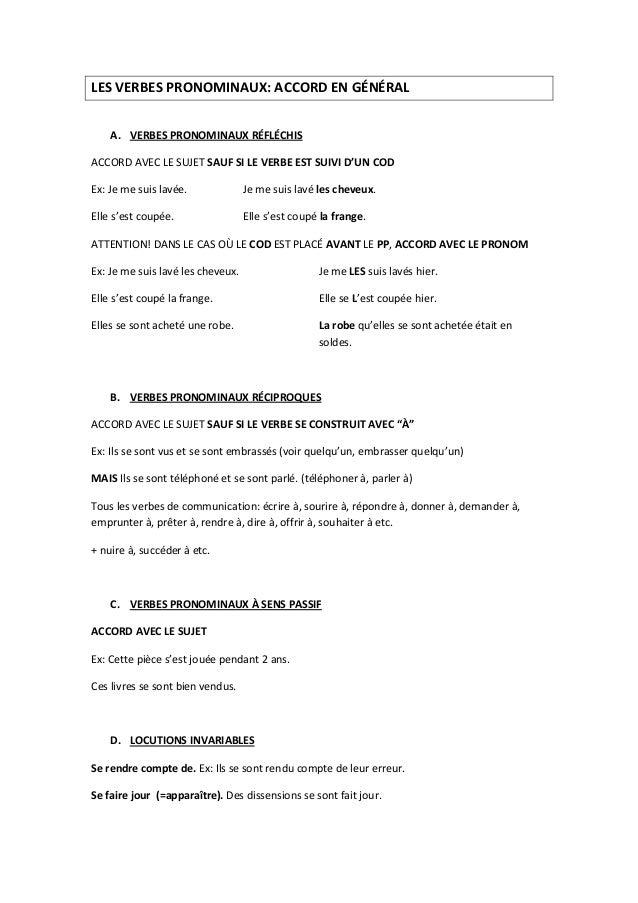 L'accord du participe passé Slide 2