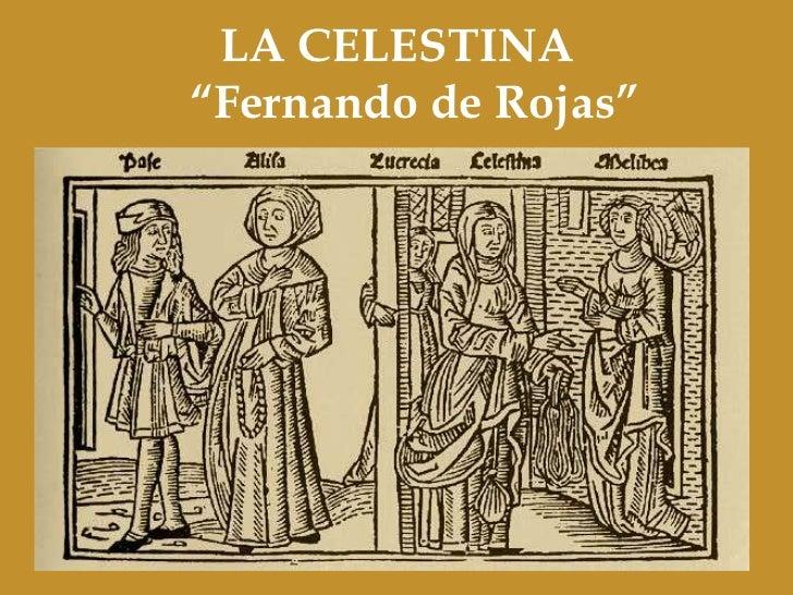 "LA CELESTINA""Fernando de Rojas"""