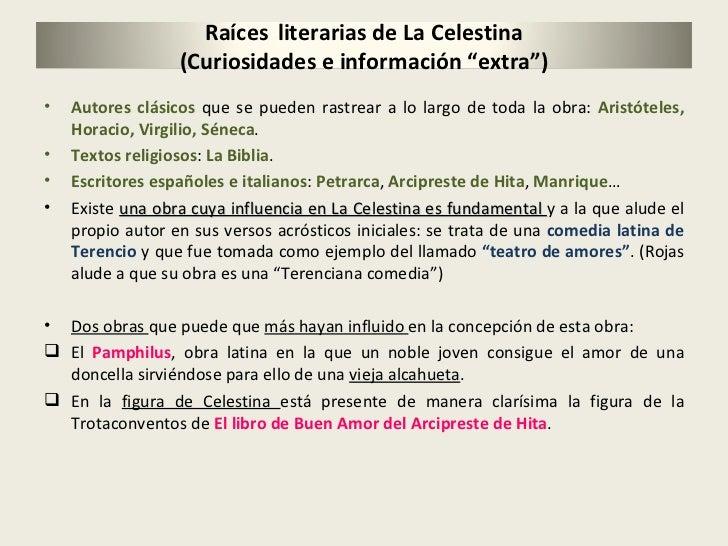 <ul><li>Autores clásicos  que se pueden rastrear a lo largo de toda la obra:  Aristóteles, Horacio, Virgilio, Séneca . </l...
