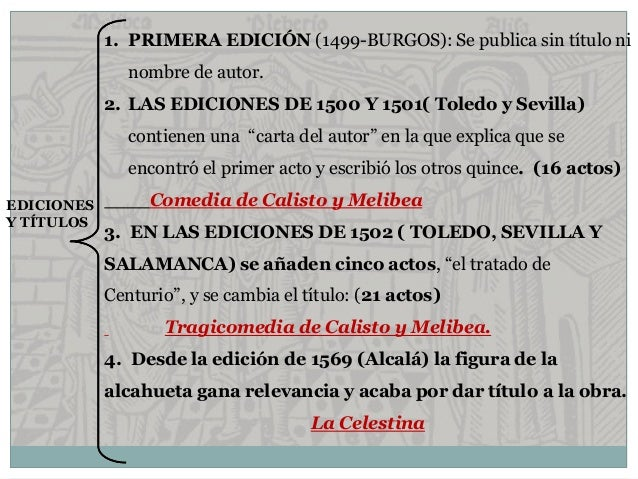 Libro de Calisto y Melibea y de la puta vieja Celestina ed. Sevilla (1502)