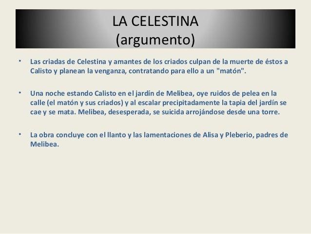 La celestina 1 for La celestina argumento