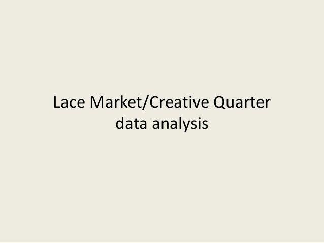 Lace Market/Creative Quarter data analysis