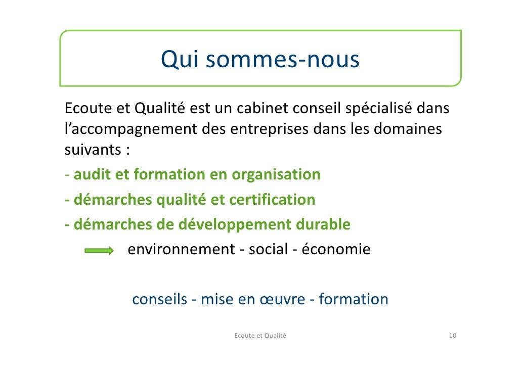 La certification mode d 39 emploi - Cabinet de conseil en developpement international ...