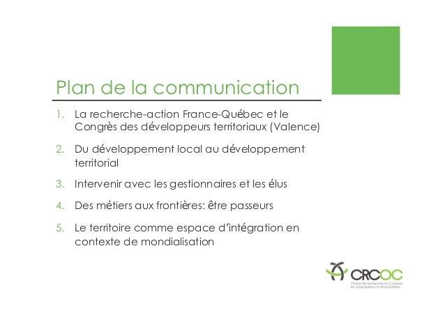 Lachapelle rené presentation-actes-colloquetsi2014-v2 Slide 2