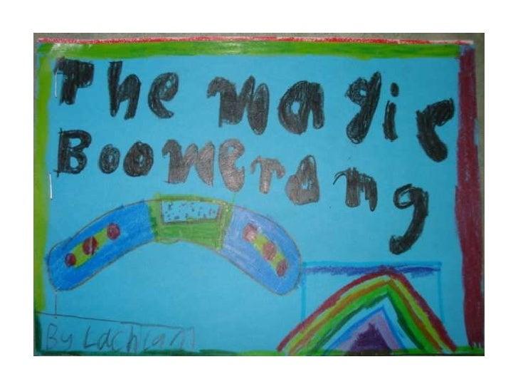 Lachlan the magic boomerang