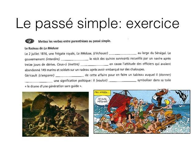 Le passé simple: exercice