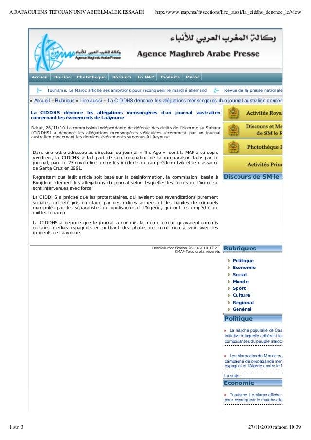 Accueil On-line Photothèque Dossiers La MAP Produits Maroc Tourisme: Le Maroc affiche ses ambitions pour reconquérir le ...
