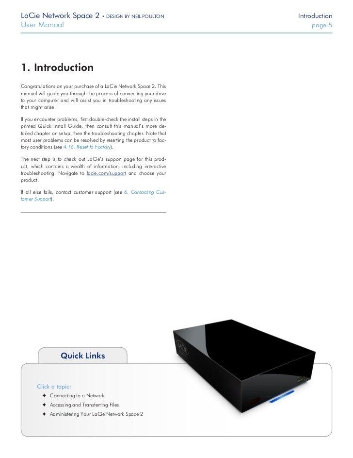 lacie network space 2 rh slideshare net lacie network space 2 manual lacie network space manual