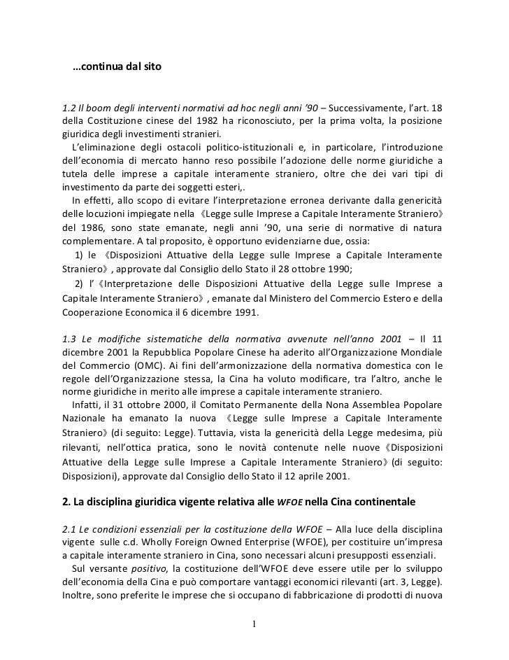 …continua dal sito1.2 Il boom degli interventi normativi ad hoc negli anni '90 – Successivamente, l'art. 18della Costituzi...