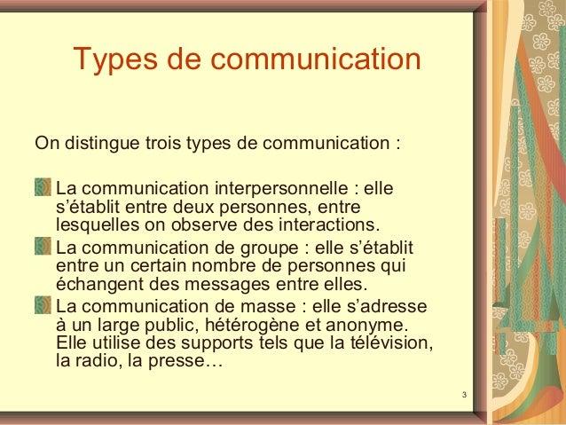 Télécharger les types de communication interpersonnelle PDF