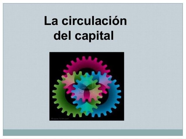 La circulación del capital