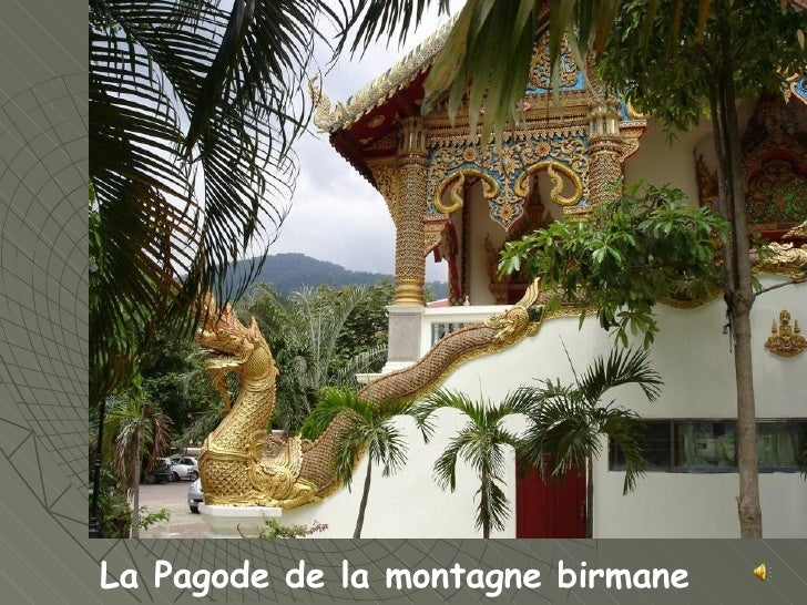 La Pagode de la montagne birmane