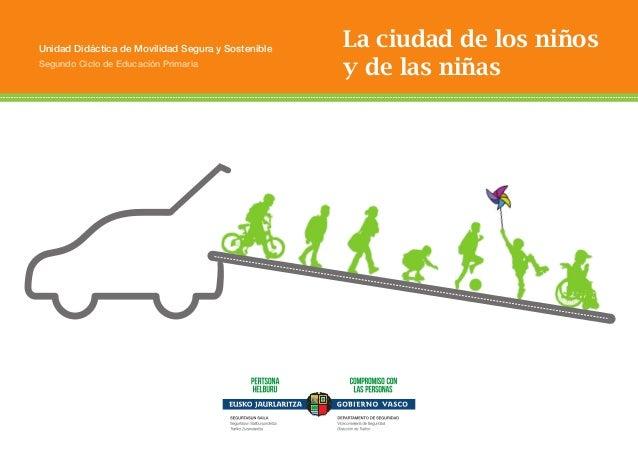 ÍNDICE  Unidad Didáctica de Movilidad Segura y Sostenible  Segundo Ciclo de Educación Primaria  La ciudad de los niños y d...