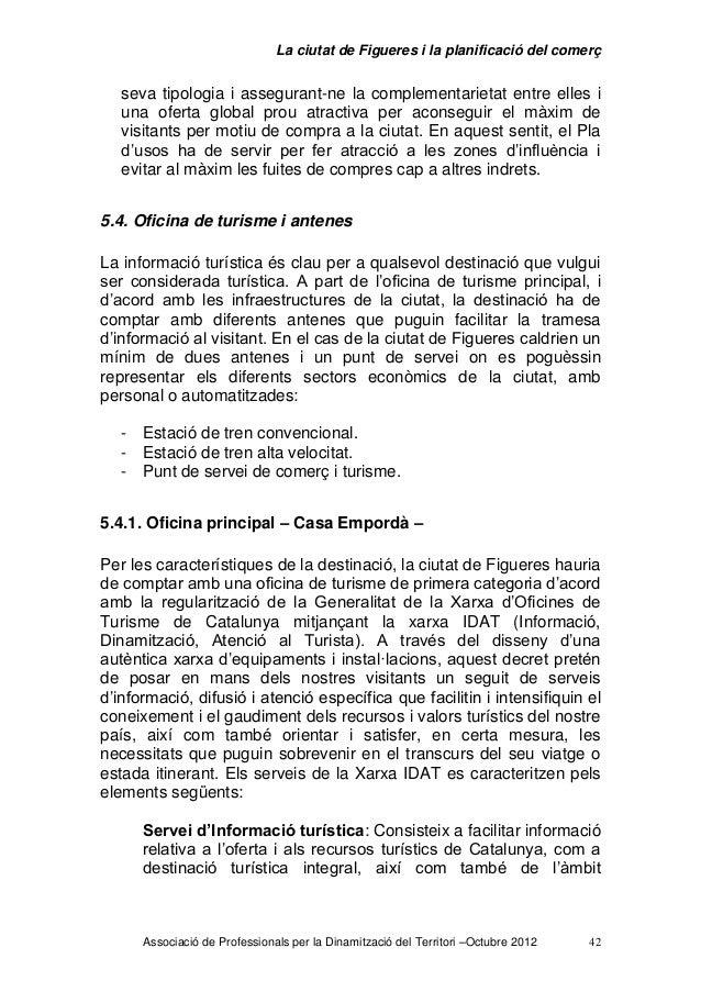 La ciutat de figueres i la planificaci del comer 2012 for Oficina de turisme figueres