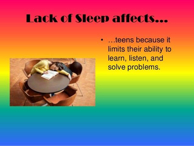 Teen sleep deprivation symptoms should #12