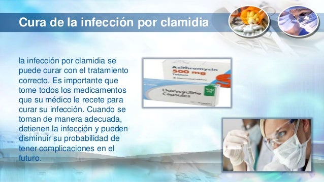 Infección por clamidia antibiótico - Farmacia