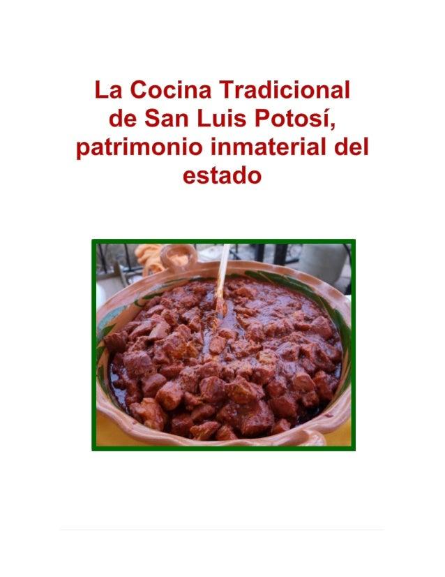 La cocina tradicional de san luis potos for La cocina de seve