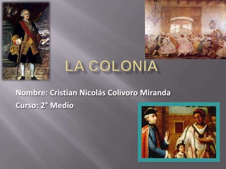 Nombre: Cristian Nicolás Colivoro MirandaCurso: 2° Medio