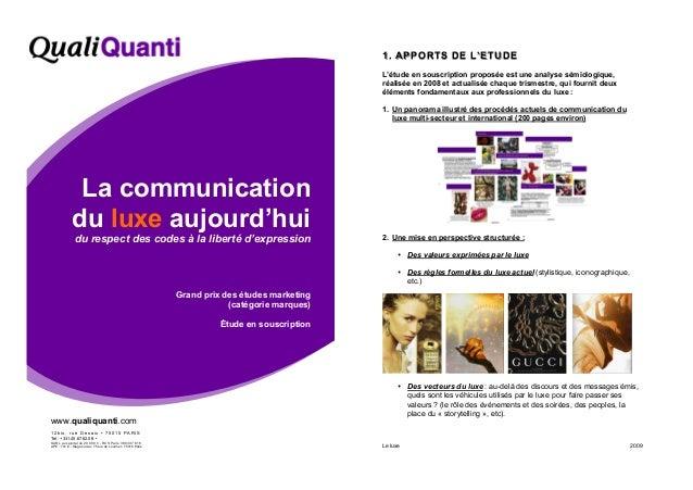 www.qualiquanti.com 1 2 b i s , r u e D e s a i x • 7 5 0 1 5 P A R I S Tel : +331.45.67.62.06 • SARL au capital de 20.000...