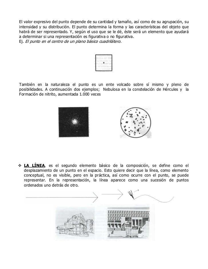 La composicion y sus elementos