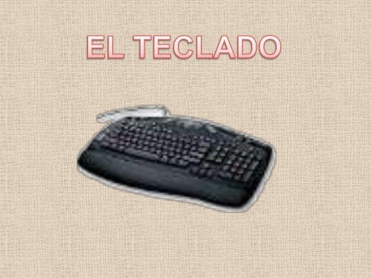 EL TECLADO<br />