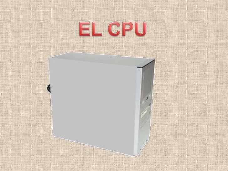 EL CPU<br />