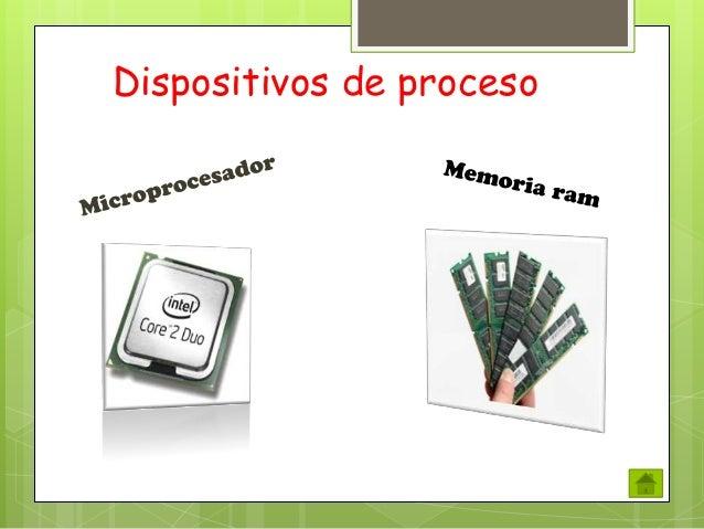 Dispositivos de proceso