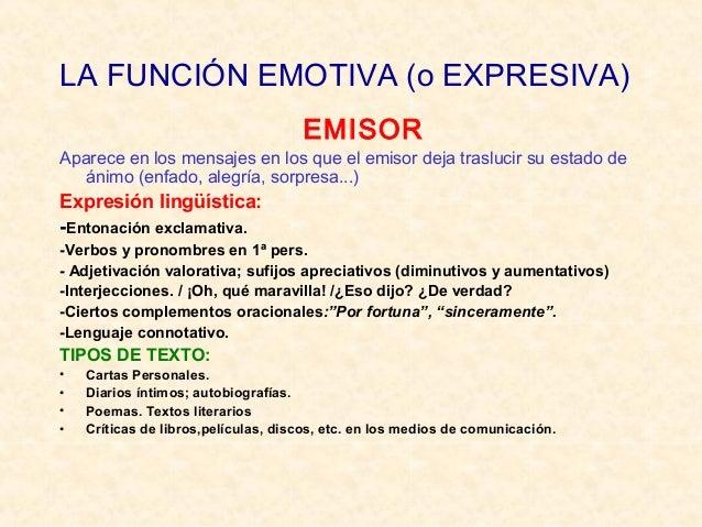 LA FUNCIÓN REFERENCIAL (o REPRESENTATIVA) CONTEXTO Comunicación objetiva: información Expresión lingüística: -Oraciones en...