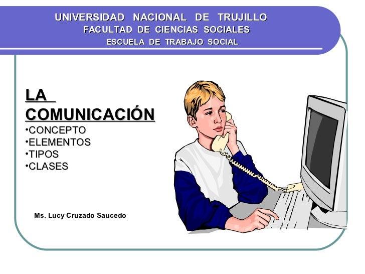 UNIVERSIDAD NACIONAL DE TRUJILLO             FACULTAD DE CIENCIAS SOCIALES                   ESCUELA DE TRABAJO SOCIALLACO...
