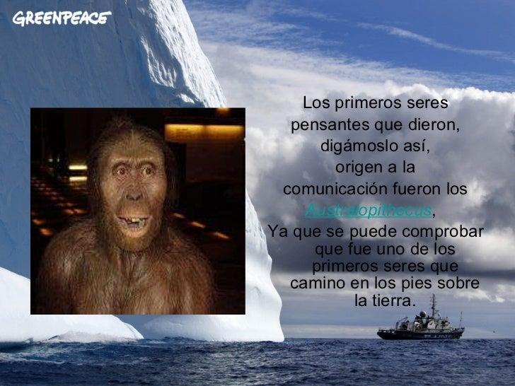 La comunicación en el hombre a travez de la historia Slide 3
