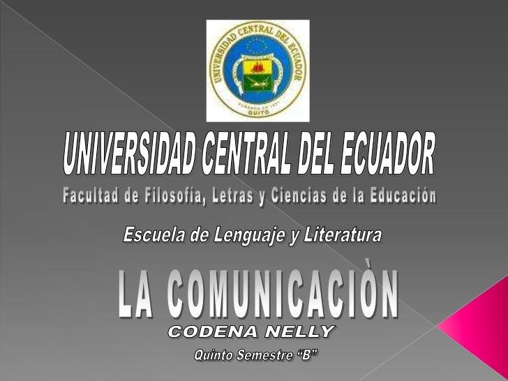 LA COMUNICACIÒN   Es un acto social en    el cual se transmite    y se recibe    información.