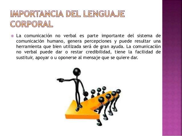 La comunicación no verbal es parte importante del sistema de comunicación humano, genera percepciones y puede resultar u...