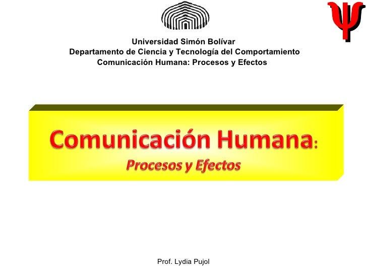 Universidad Simón Bolívar                                                          ψDepartamento de Ciencia y Tecnología d...