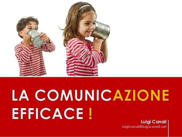 Luigi Canali  luigicanali@luigicanali.net  1