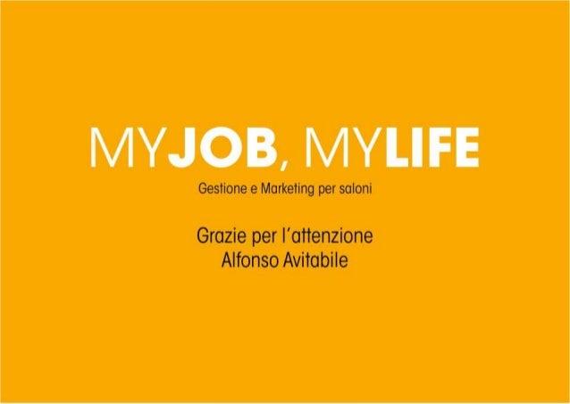 Gestione e Marketing per saloni  Grazie per l'attenzione Alfonso Avitabile