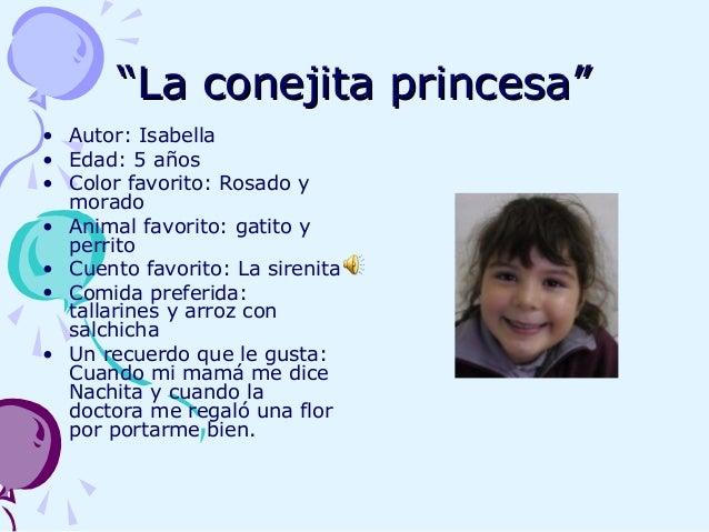 """""""""""La conejita princesa""""La conejita princesa"""" • Autor: Isabella • Edad: 5 años • Color favorito: Rosado y morado • Animal f..."""