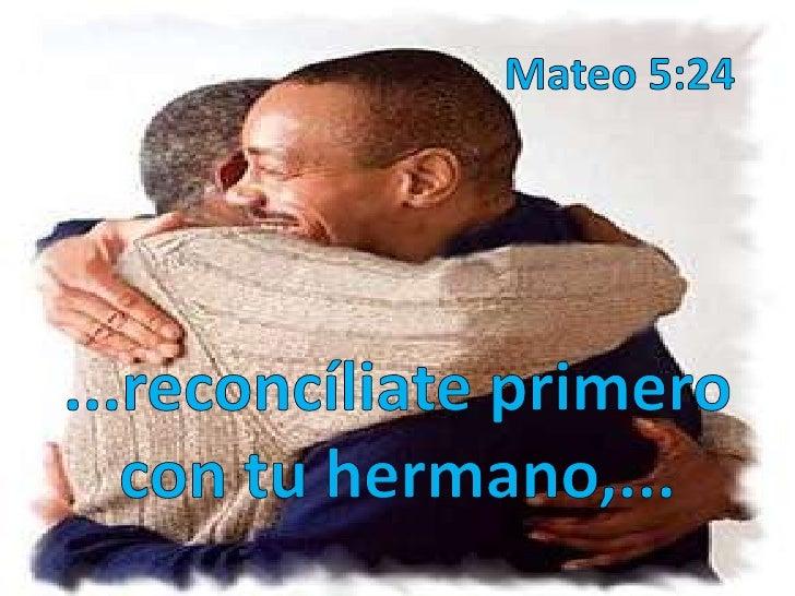 Resultado de imagen para Mateo 5,23-24
