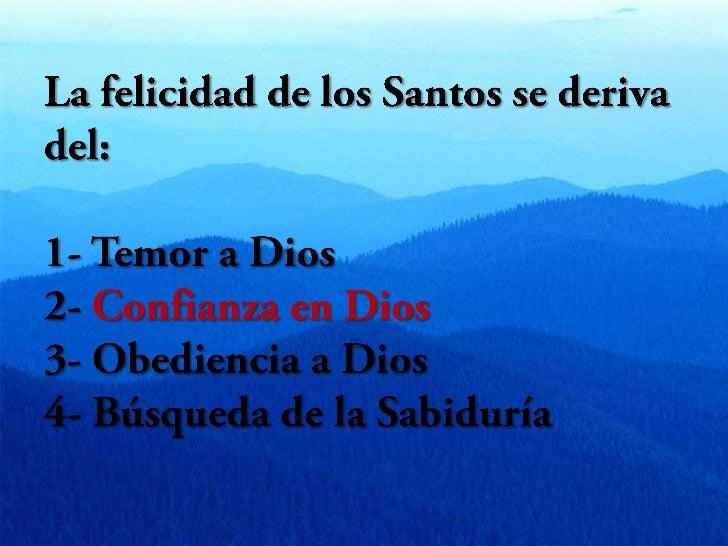 La Confianza en Dios Slide 2