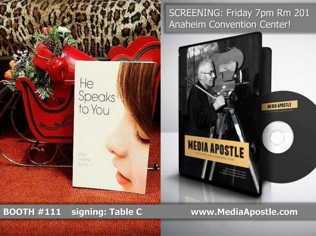 Media Apostle Bookend #1