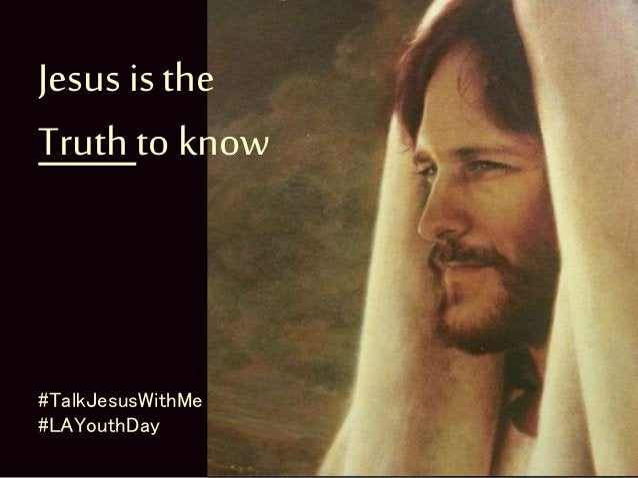 Jesus is the Way to follow #TalkJesusWithMe #LAYouthDay