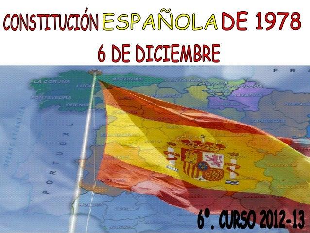 ¿ Que es la constitución ?La constitución española de 1978 esla norma suprema del ordenamientodel reino de españa a la que...