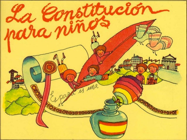 España es una nación formada por muchos pueblos y gentes. En 1.978 se decidió crear un documento en el que se dice a tod@s...