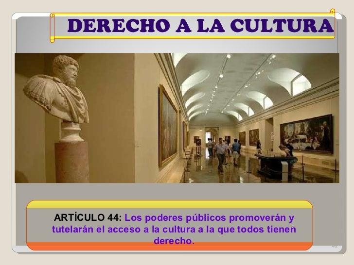 Resultado de imagen de constitucion española la cultura