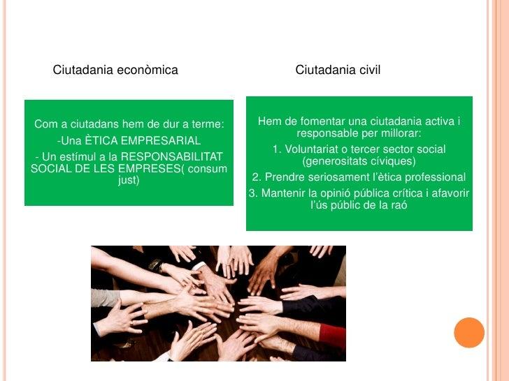 Ciutadaniaeconòmica<br />Ciutadania civil<br />