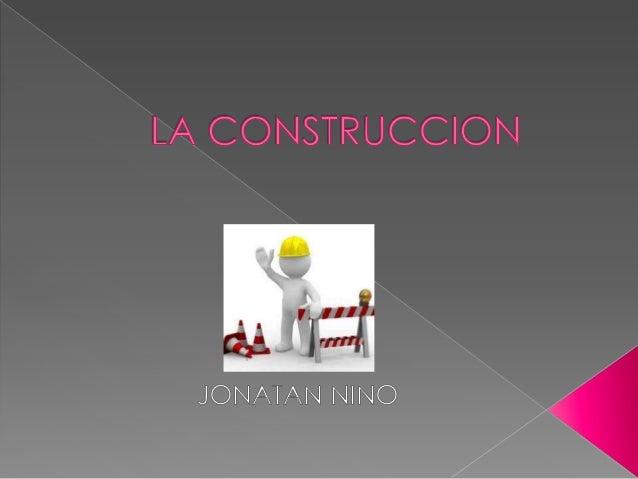   En los campos de la arquitectura e ingeniería, la construcción es el arte o técnica de fabricar edificios e infraestruc...