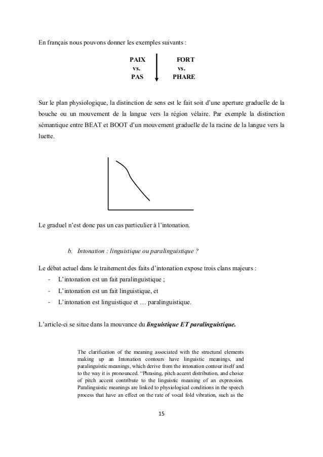 En français nous pouvons donner les exemples suivants : PAIX vs. PAS  FORT vs. PHARE  Sur le plan physiologique, la distin...