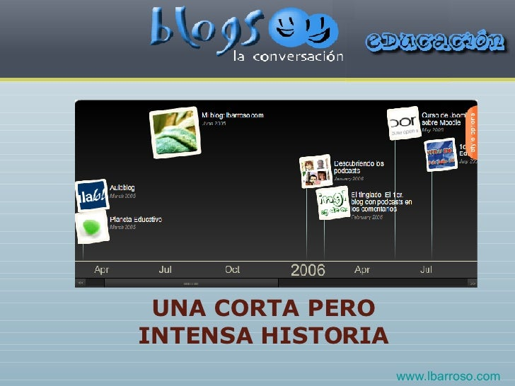 UNA CORTA PERO INTENSA HISTORIA www.lbarroso.com