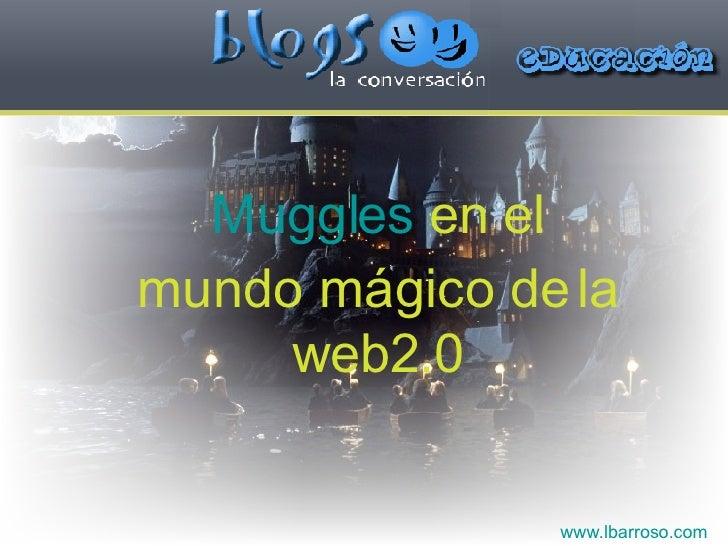www.lbarroso.com Muggles  en el mundo mágico de la web2.0