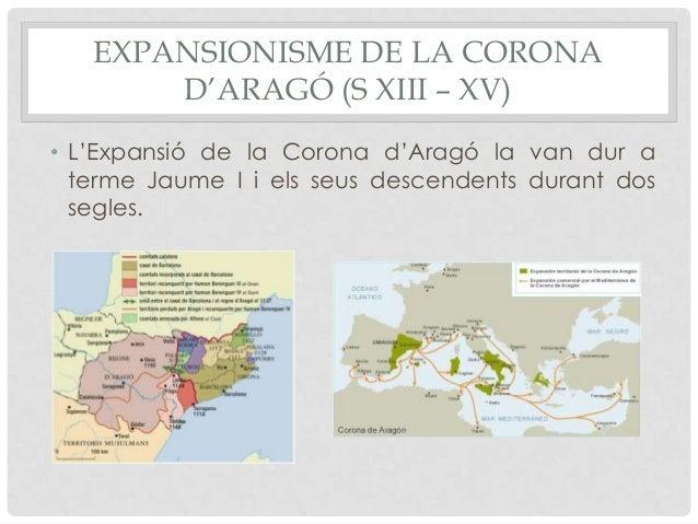 La corona d'Aragó (ss. XIII-XV) Slide 2