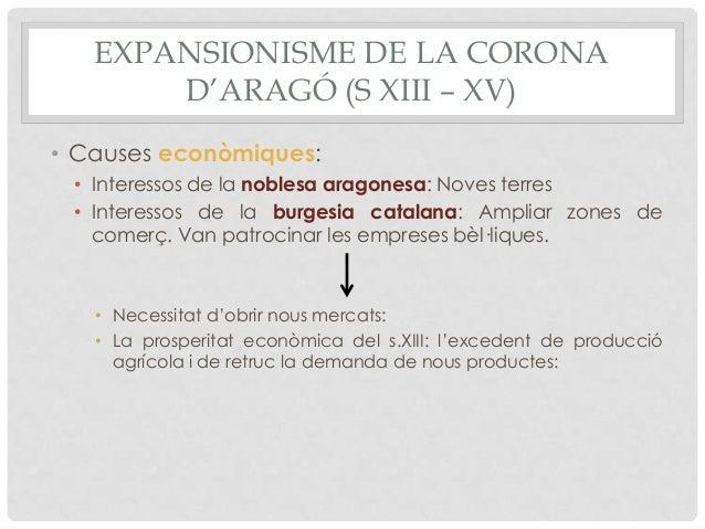 La corona d'Aragó (ss. XIII-XV) Slide 3